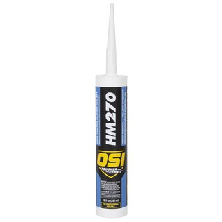 OSI Sealants 1494045 10 Oz Clear HM-270 Construction Silicone Sealant