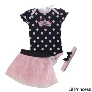 3-Piece Ruffle Dress Set (More options available)