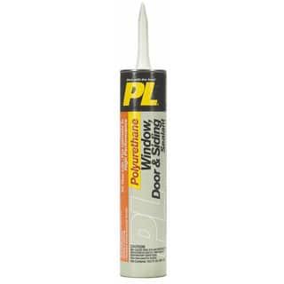 PL 1618176 10.2 Oz Gray Polyurethane Window, Door & Siding Sealant https://ak1.ostkcdn.com/images/products/12431684/P19247948.jpg?impolicy=medium