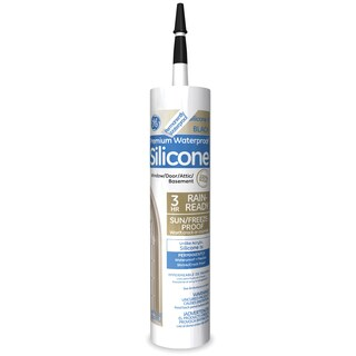 GE Silicone GE5030 9.8 Oz Silicone II Window & Door Sealant