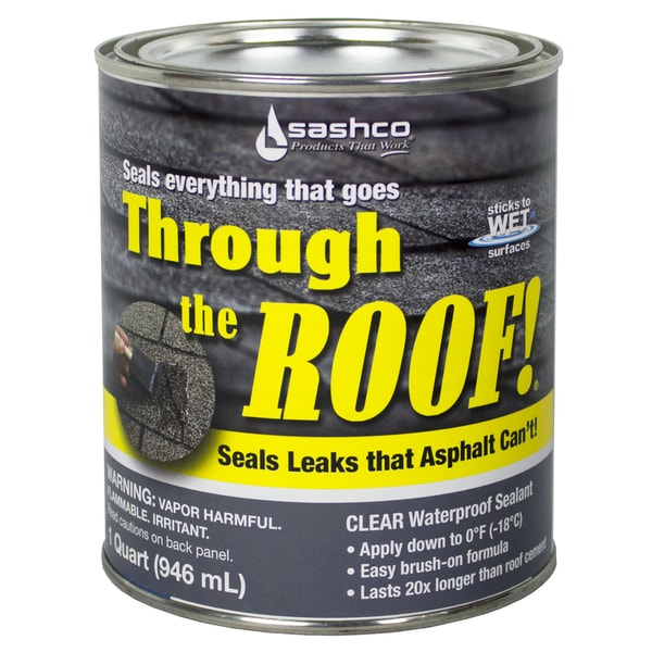 Sashco 14023 Qt 1 Quart Through The Roof Sealant Free