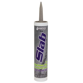 Sashco 16210 10.5 Oz Gray Slab Concrete Sealant