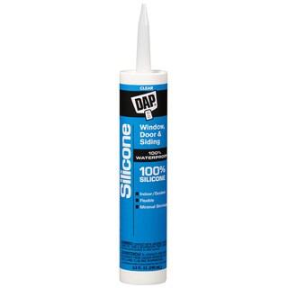 Dap 08641 Dap 9.8 oz Clear Window, Door & Siding Silicone Rubber Seal