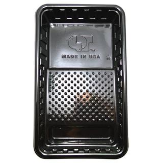 "Quali Tech Manufacturing PET-30 15"" Black Plastic Paint Roller Tray"