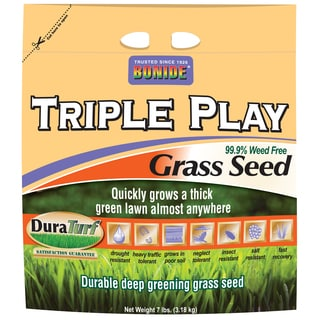 Bonide 60274 7-pound Triple Play Grass Seed