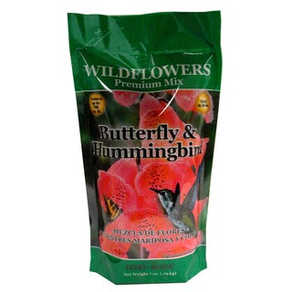 Plantation Products WFHB18 Wildflower Butterfly & Hummingbird Shaker Bag