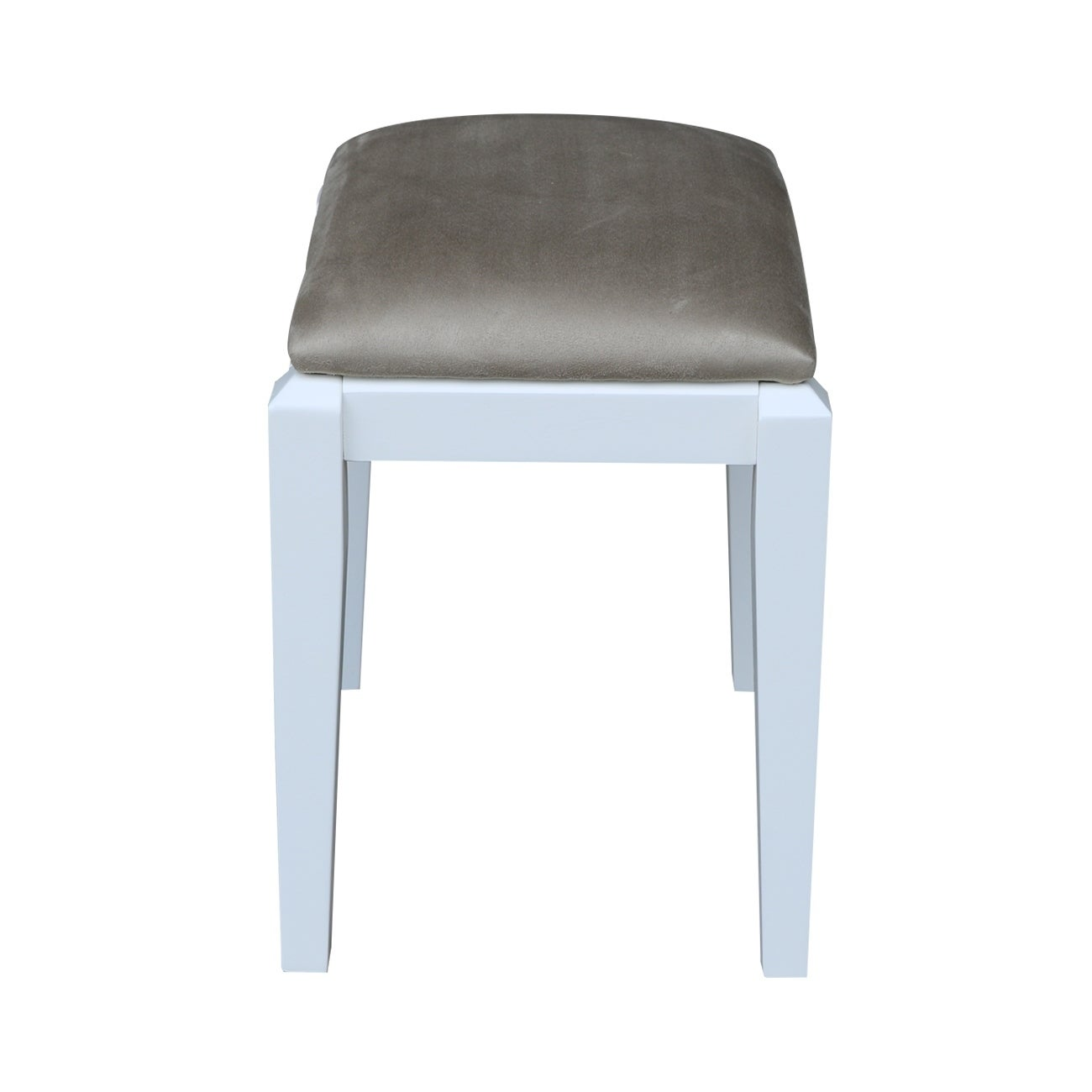 International Concepts BE08-2 Vanity Bench Snow White