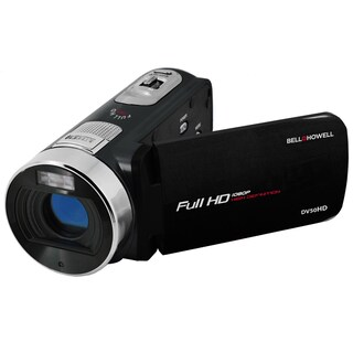 Bell and Howell DV50HD 1080p Full HD Video Camcorder with 20.0 MP Still Image Resolution and 3-inches Touch Screen LCD (3 options available)