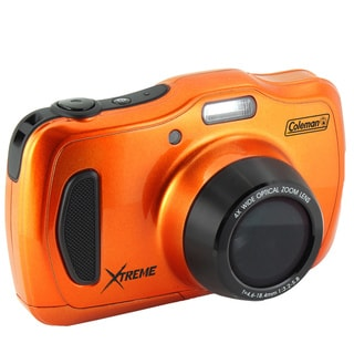 Coleman C30WPZ 20-Megapixel Waterproof HD Digital Camera with 4x Optical Zoom & 3-inch LCD Screen