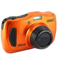 Coleman C30WPZ 20-Megapixel Waterproof HD Digital Camera with 4x Optical Zoom & 3-inch LCD Screen
