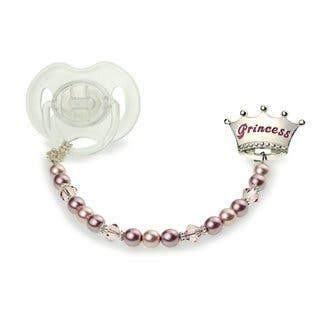 Prince or Princess Pacifier Clip|https://ak1.ostkcdn.com/images/products/12432259/P19248428.jpg?impolicy=medium