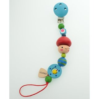 Wooden Pacifier Clip (AD)