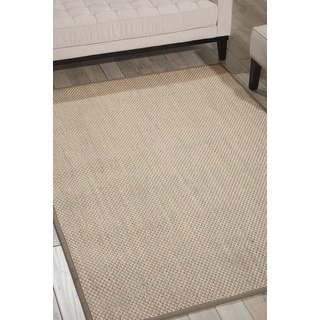 Nourison Beechwood Grey Area Rug (1'9 x 2'10)