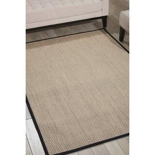 Nourison Beechwood Charcoal Area Rug (1'9 x 2'10)