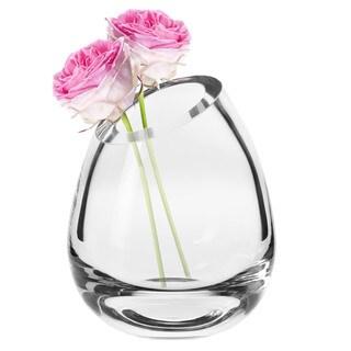 Krosno Annika Glass Slant Vase