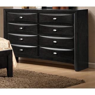 LYKE Home Ema Wood 8-Drawer Dresser