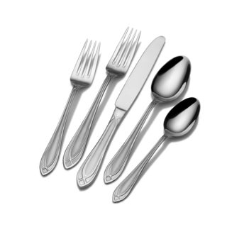 International Silver Arcadia Frost Stainless Steel 45-piece Flatware Set