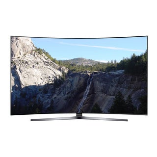 Samsung Black 65-inch Curved Refurbished Ultra SUHD Smart LED TV