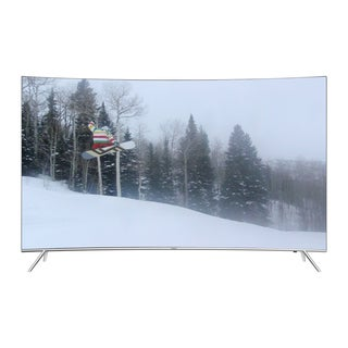 Samsung 65-inch 4K Curved Ultra SUHD Refurbished LED TV with WiFi
