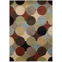Nourison Mondrian Multicolor Area Rug