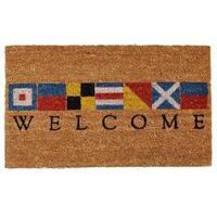 Nautical Welcome Doormat (2' x 3')