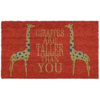 Giraffes Doormat (1'5 x 2'5)