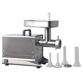 Excalibur Stainless Steel #8 Electric Professional Meat Grinder
