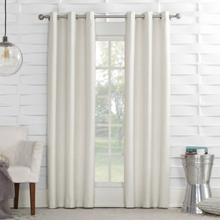 Sun Zero Thompson Polyester Lined Rod-pocket Window Curtain Panel