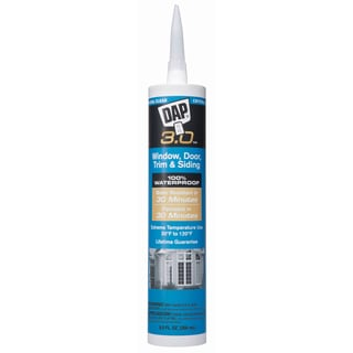 Dap 18362 Crystal Clear DAP 3.0 Window, Door, Trim & Siding Sealant
