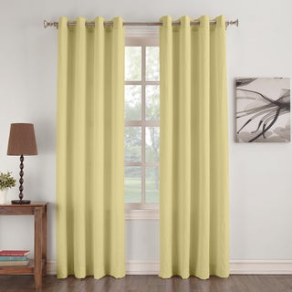 No.918 Donovan Crushed Microfiber Solid Curtain Panel