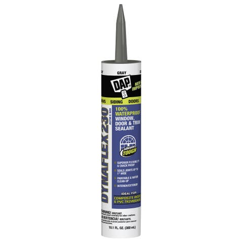 Dap 18286 10.1 oz. Gray Dynaflex 230 Premium Indoor/Outdoor Sealant