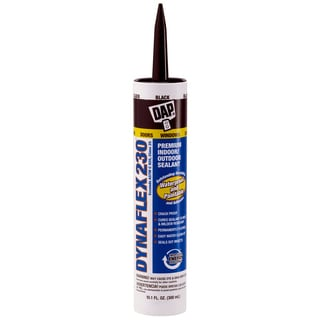 Dap 18280 10.1 Oz Black Dynaflex 230 Premium Indoor/Outdoor Sealant