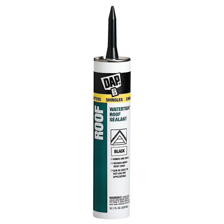 DAP 18268 Black-Tite Roof Sealant (Specialty Caulking), B...