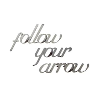 Wall Decor Follow Your Arrow by Letter2Word