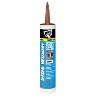 Dap 00823 Cedar Side Winder Advance Polymer Siding & Window Sealant