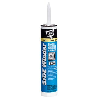 Dap 00801 White Side Winder Advance Polymer Siding & Window Sealant