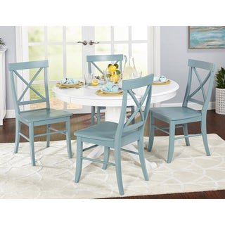 Simple Living 5-piece Dawson Dining Set (3 options available)