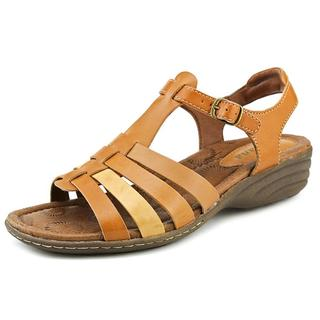 Montana Women's 'Cricket' Tan Leather Sandals