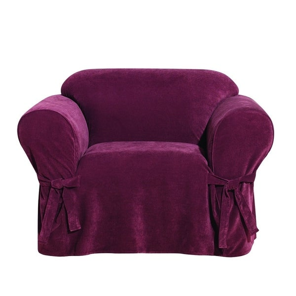 Shop Sure Fit Everyday Chenille 1 Piece With Cord Chair