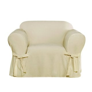Sure Fit Everyday Chenille 1 Piece With Cord Chair Cover