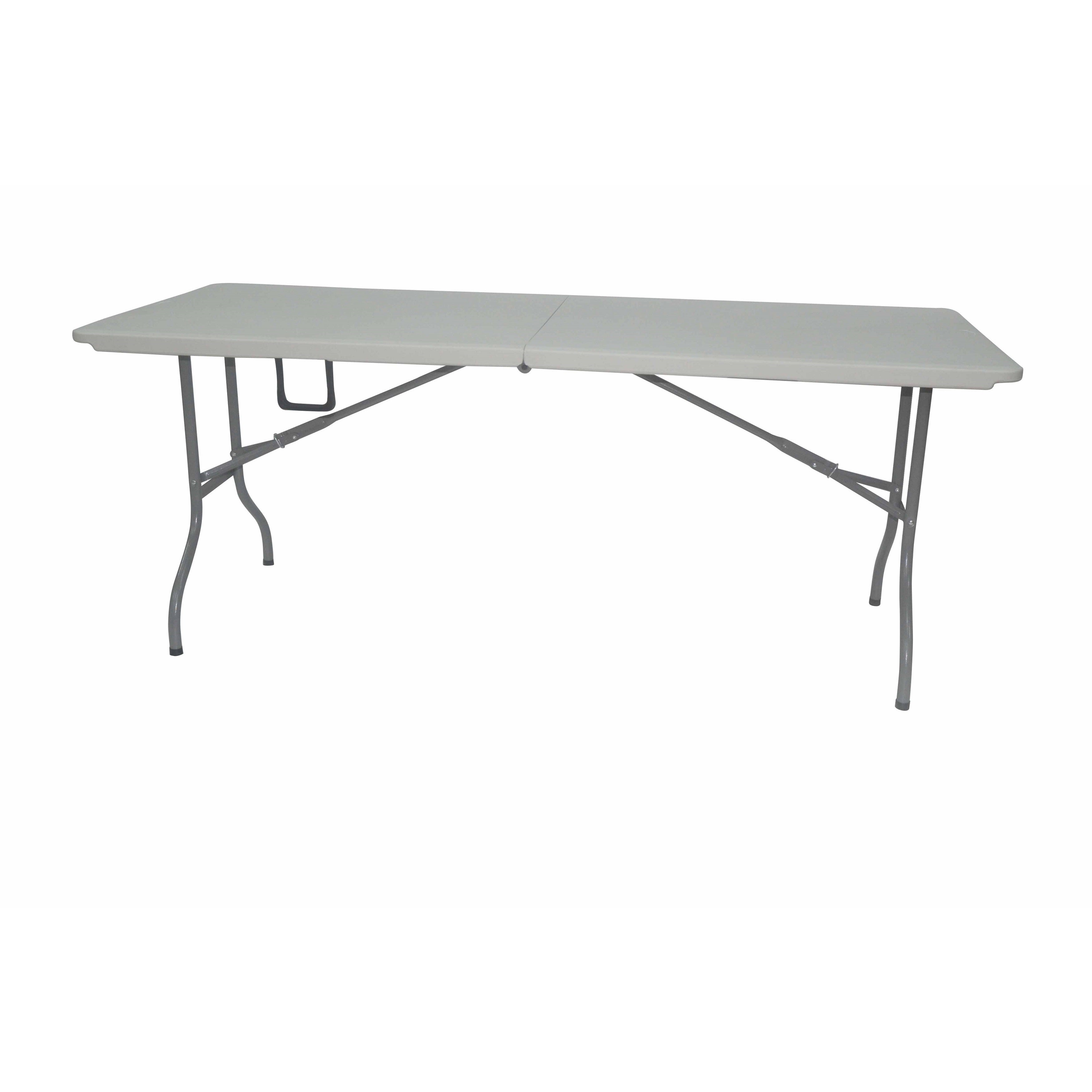 Shop 6 Foot Fold In Half White Plastic Table Overstock 12432930