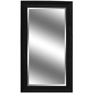 Mirror Dark Espresso 71 x 37-inch Woodgrain Mirror