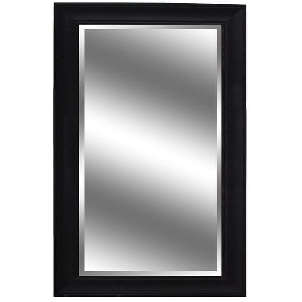 Y decor 60 inch x 37 inch dark espresso colored woodgrain for 60 inch framed mirror