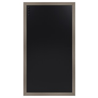 Designovation Beatrice Wood Framed Magnetic Chalkboard - 30x55