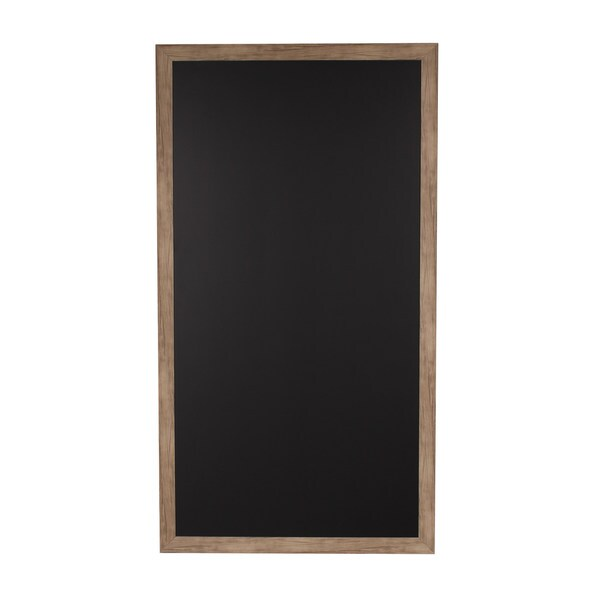 Designovation Beatrice Wood Framed Magnetic Chalkboard