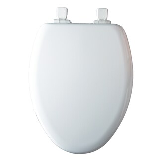 Mayfair White Elongated Slow Close Child/Adult Toilet Seat