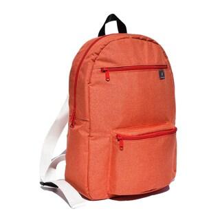 Fresco Zaino Giovanni Orange Fabric 14-inch Laptop Backpack
