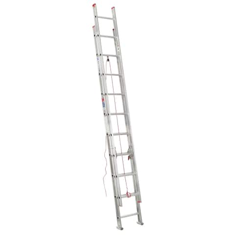 Werner D1120-2 20' Aluminum Extension Ladder