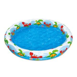 Inflatable Ocean Pool (Option: Multi)