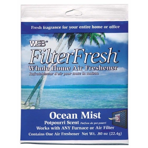"""Web Products WOCEAN Ocean Mist Scent FilterFresh Whole Home Air Freshener - Multi - .25"""" x 6.75"""" x 9"""""""